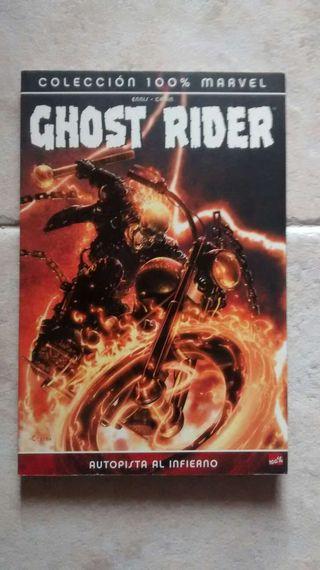 Comic ghost rider
