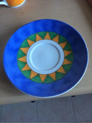 Juegos De Tazas De Cafe Porcelana