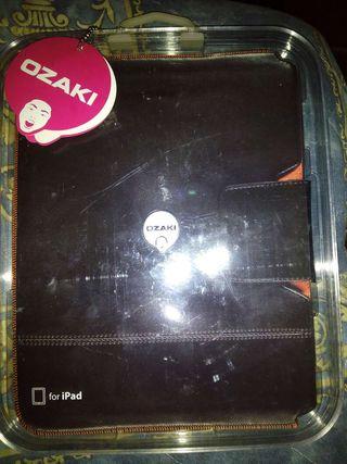 Funda para iPad iCoat Sew de OZAKI en piel genuina - Nueva