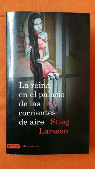 La reina en el palacio de las corrientes de aire (Millennium 3) de Stieg Larsson