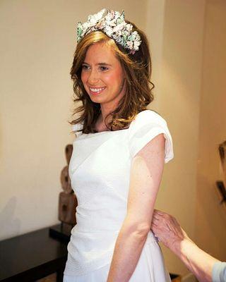 Vestido de novia diseñado #SoleAlonso