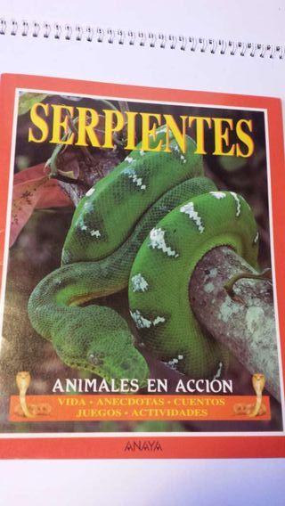 Libro Serpientes de Anaya