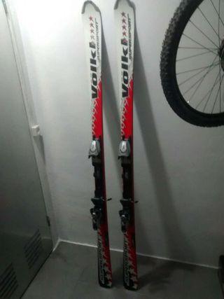 Esquis o esquíes 175