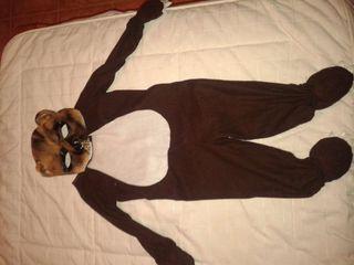 Disfraz oso panda.