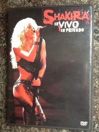 SHAKIRA En VIVO y En Privado CD+DVD