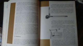 reliquia:Libro de dibujo técnico antiguo