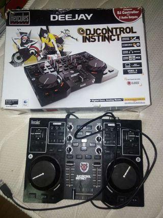 Mesa de mezclas djcontrol
