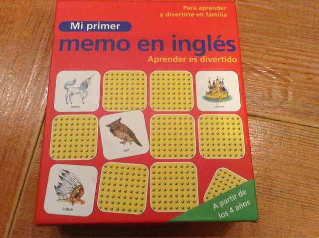 Joc De Memòria En Anglés