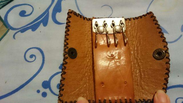 Llavero cuero, artesanía