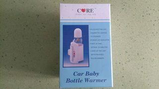 Calentador biberones para coche