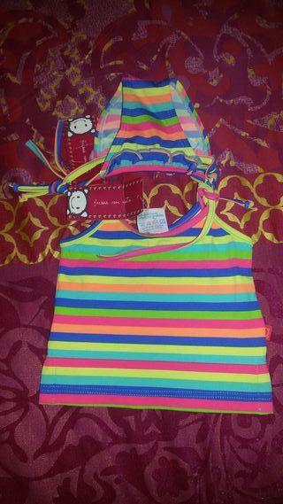 Coulotte y camiseta niña