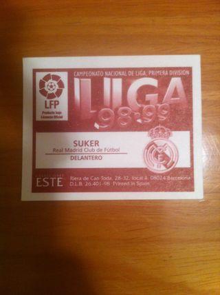 Cromos Real Madrid 98-99