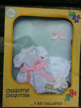 Ropa de la muñeca chiquitina de los años 70