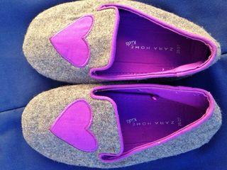 Zapatillas Zara Kids 26/27 Nuevas A Estrenar