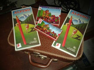 """Lapices de colores """"Alpino"""" Años 80!!"""