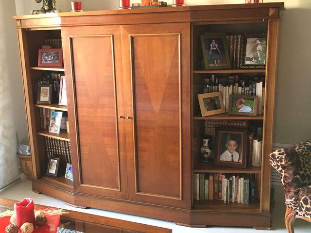 Mueble tv libreria bar de segunda mano por 245 en - Tu mueble barcelona ...