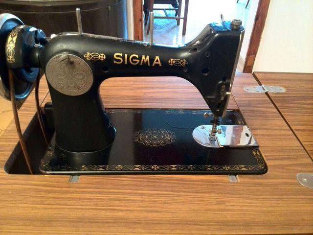 Maquina coser antigua Sigma de segunda mano por 40 € en
