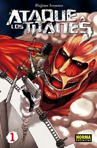 Ataque de los titanes Tomo 1 2 y 3