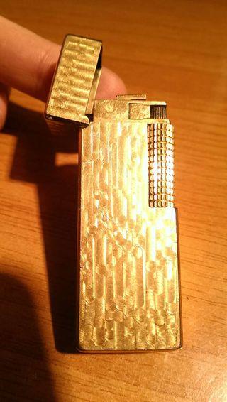 Encendedor zippo Rowenta Maruman dorado