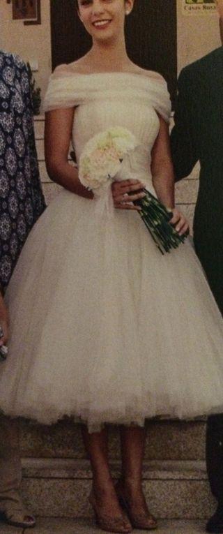 Vestidos de novia a los 50