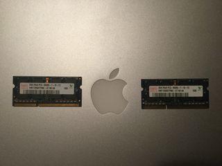 "2 Módulos 2Gb Memoria Hynix MacBook Pro 15"""
