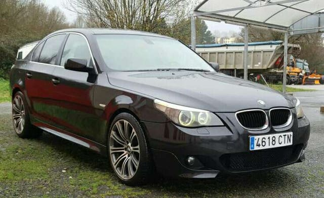 bmw 530d pack m e60 de segunda mano por en lugo en wallapop. Black Bedroom Furniture Sets. Home Design Ideas