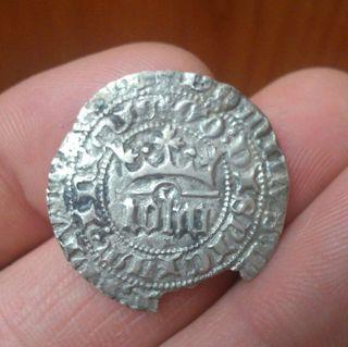 Monedas Moneda 1 real de Juan I, emision anterior a 1386