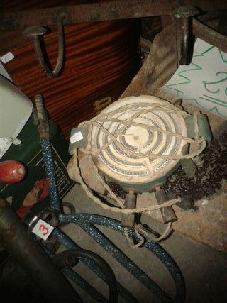 Antiguo hornillo electrico!!