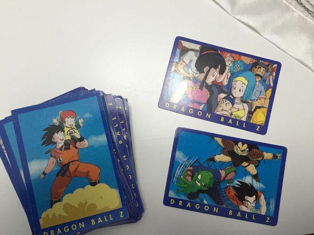 Cards Dragon Ball Z Serie 1