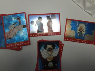Cards Dragon Ball Z Serie 4