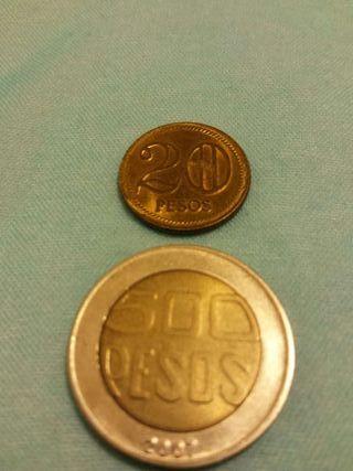 Monedas de Colombia