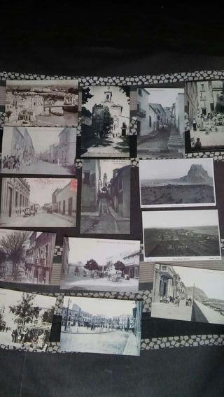 Postales antiguas de Alicante y pueblos.