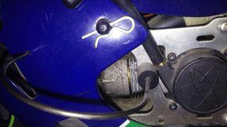 Moto rc gasolina