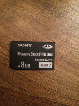 Targeta De Memoria 8GB