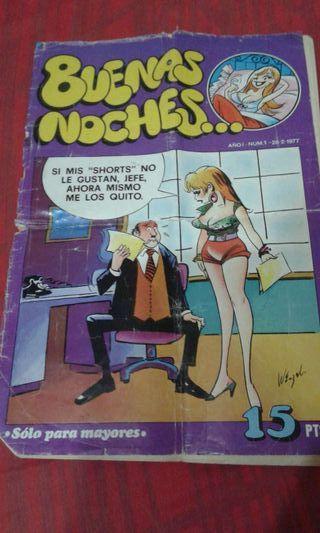 comic 1era edicion,fascículo n*1 !!BUENAS NOCHES!!