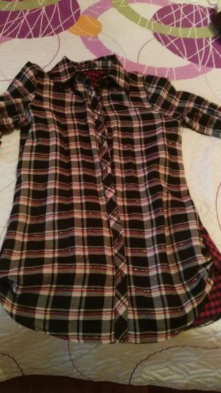 Camisa de cuadros 38