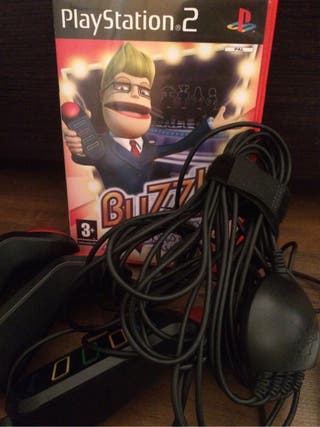 Juego BUZZ Para La PlayStation2