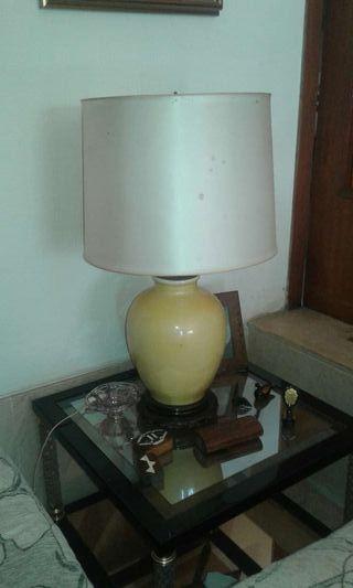 Lampara de cerámica