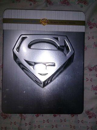 Superman estuche metálico todas las pelis