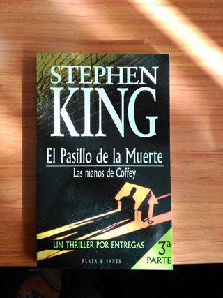 Libro de Stephen King - El pasillo de la muerte