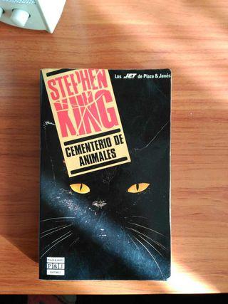 Libro de Stephen King - Cementerio de Animales