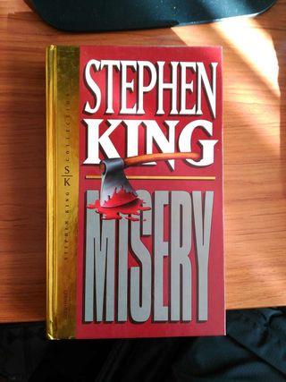 Libro de Stephen King - Misery