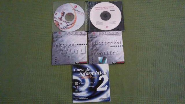 CD-ROMs educativos de informática y ofimática