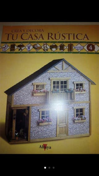 Colecci n crea y decora tu casa r stica de segunda mano for Crea tu casa