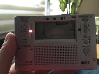 Afinador Metronomo KORG TM-40