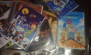 Un montón de DVD