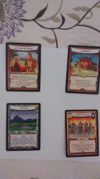 Cartas Legend of the five rings