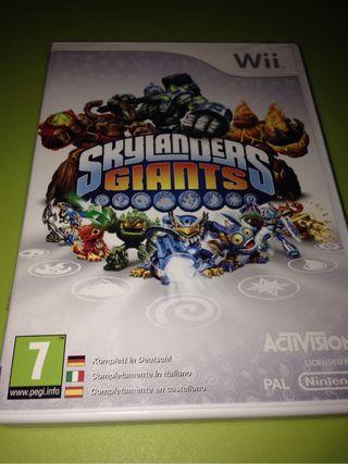 Juego Wii Skylanders Giants Y Plataforma