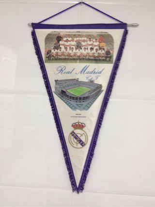 Banderin Conmemorativo 70 Aniversario Real Madrid