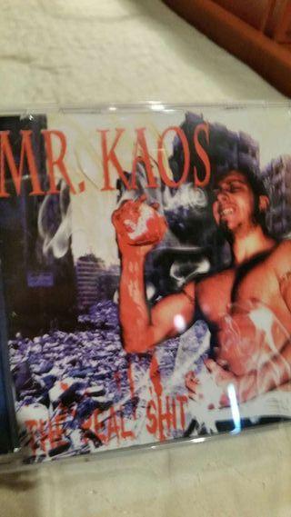 Cd rap español mr kaos the real shit